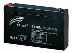 RITAR 6v 3.2Ah battery src=